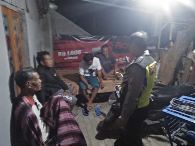 Patroli Pemukiman Oleh Polsek Gondang Direspon Positif  Oleh Warga