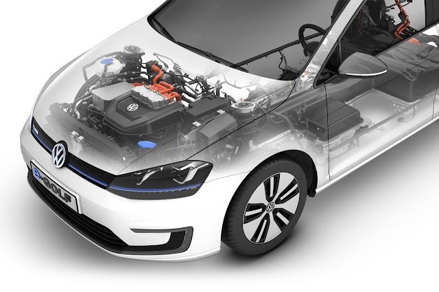VW Golf 2017 - motor