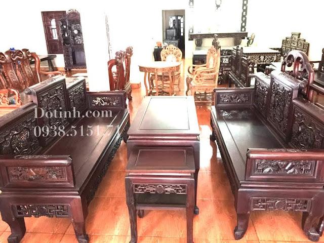 Địa chỉ bán bộ bàn ghế trường kỷ cũ uy tín