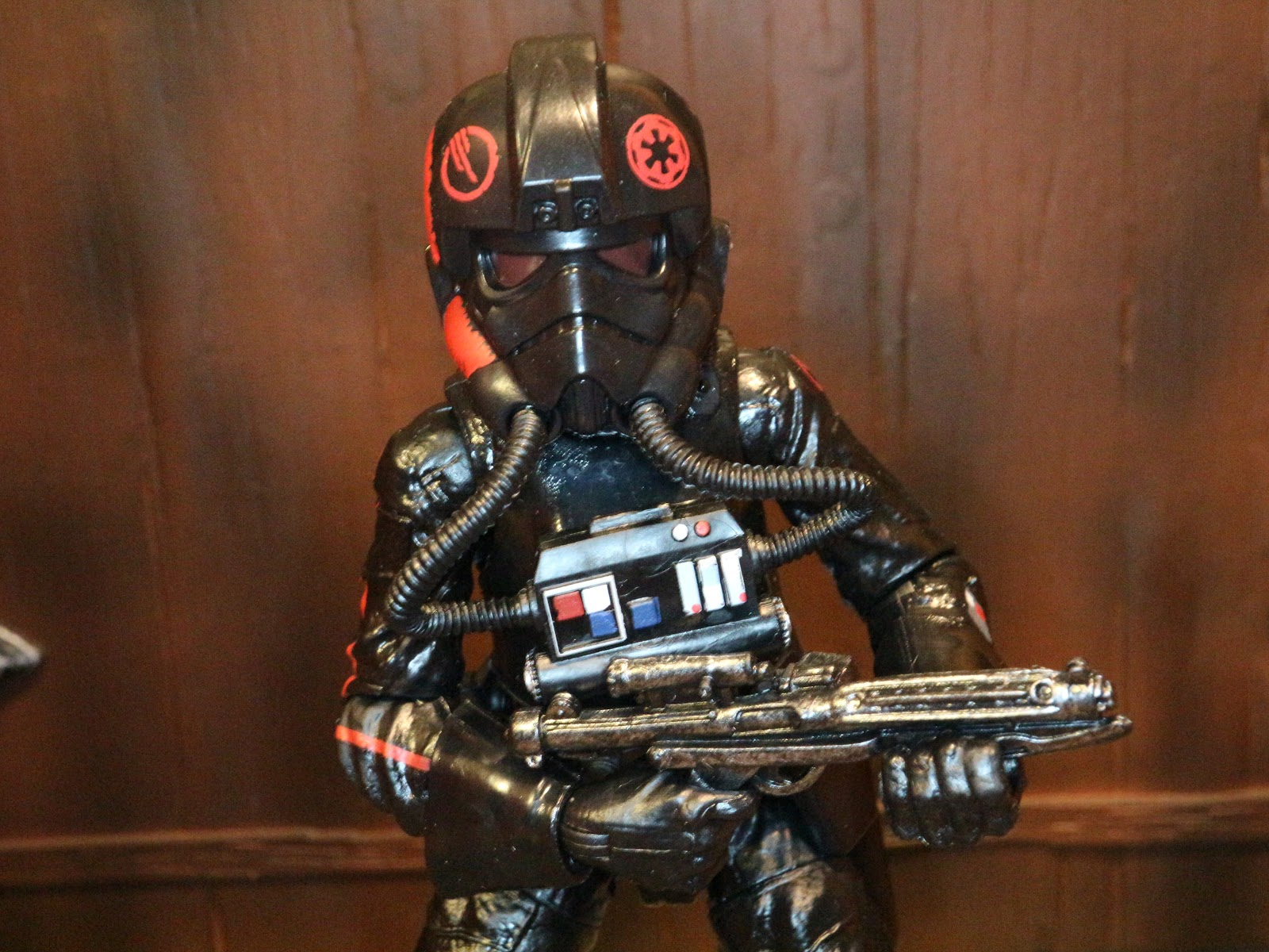 Action Figure Barbecue Road To The Last Jedi Inferno Squad Agent From Star Wars The Black Series Phase Iii By Hasbro