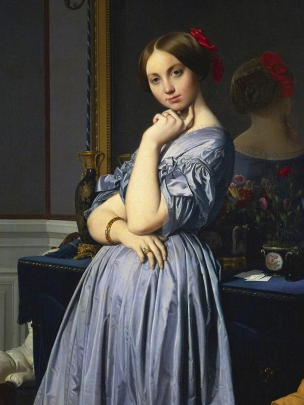 Jean-Auguste Dominique Ingres, Ingres, pinturas de Ingres, Pintura Neoclássica