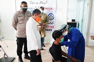 TKI Asal Pati Dapatkan Vaksinasi Sebelum Ke Luar Negeri