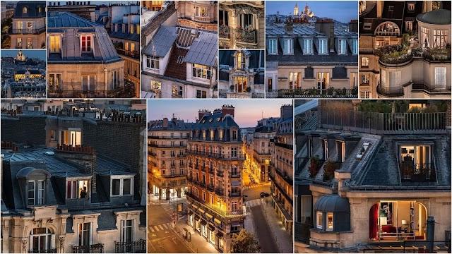 Οι στέγες του Παρισιού μέσα από τον φακό του Raphael Metivet
