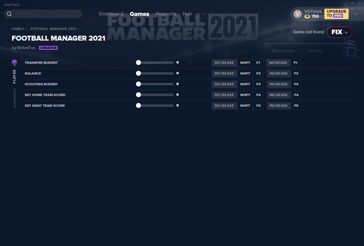 Football Manager 2021: Trainer (+5) from 22.12.2020 [WeMod]