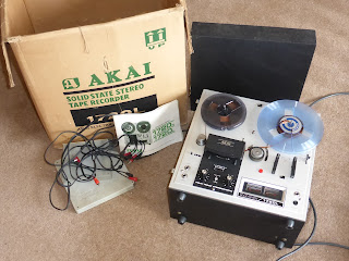 Akai reel to reel tape recorder