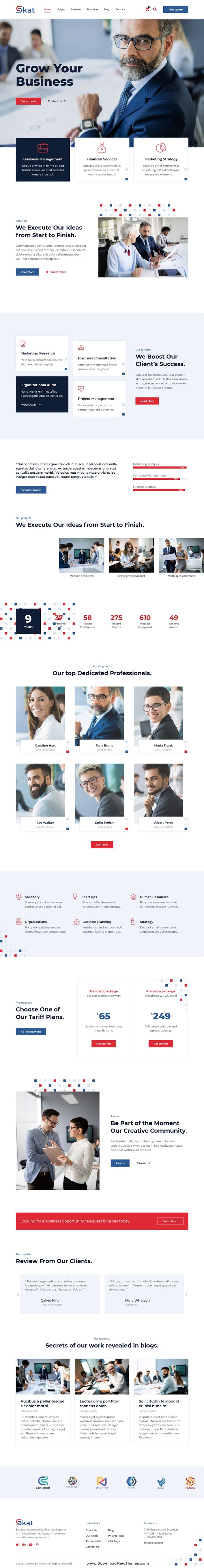 Corporate and Business Elementor Template Kit