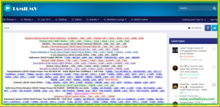 Tamilmv-Download New Telugu, Tamil, Bollywood Movies