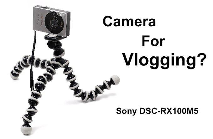Sony DSC-RX100M5 : Advanced Digital Compact Camera for Vlogging