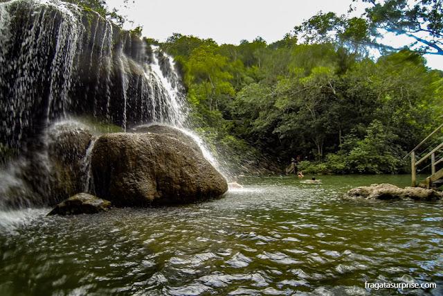 Bonito, Mato Grosso do Sul - Cachoeira na Estância Mimosa