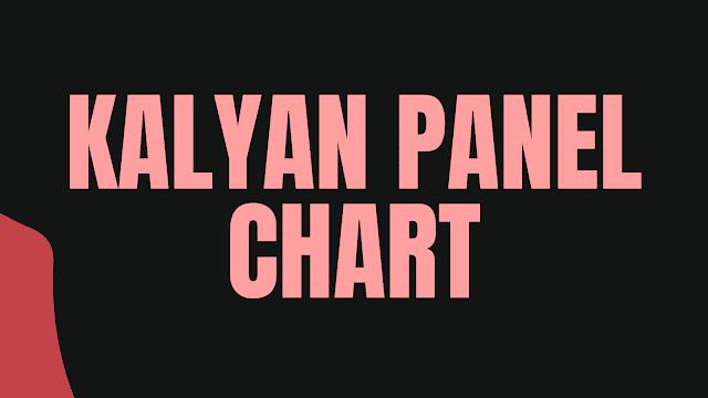 Kalyan Panel Chart