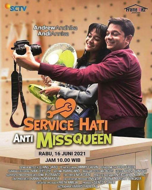 Daftar Nama Pemain FTV Service Hati Anti Missqueen SCTV 2021 Lengkap