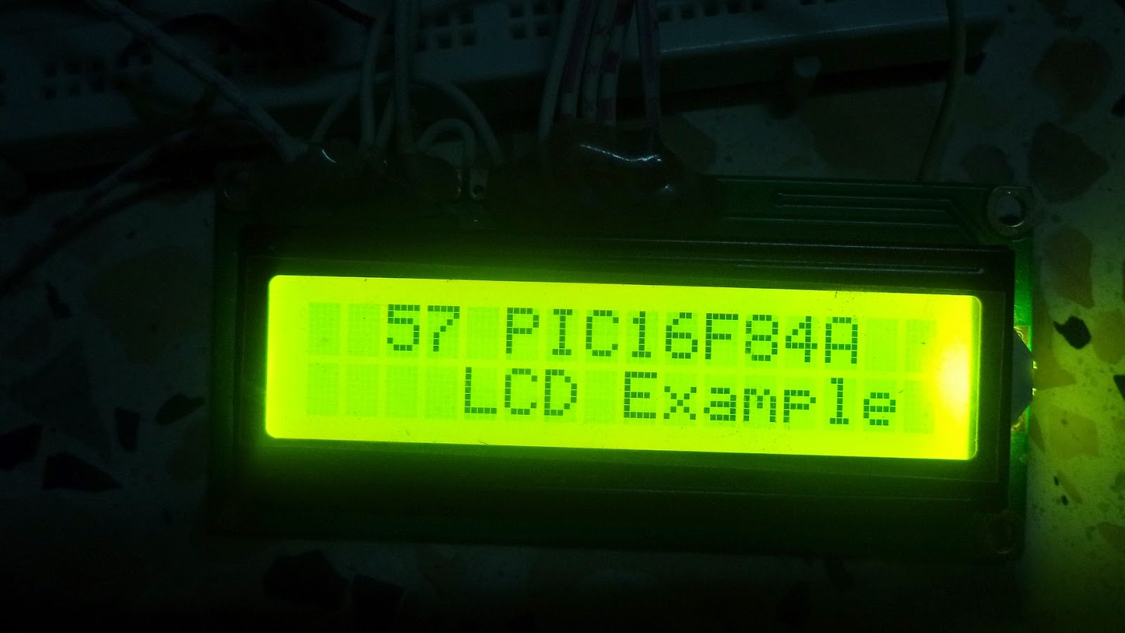 PIC16F84A lcd mikroc