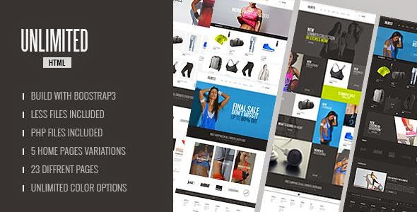 Best Accessories Store HTML Template