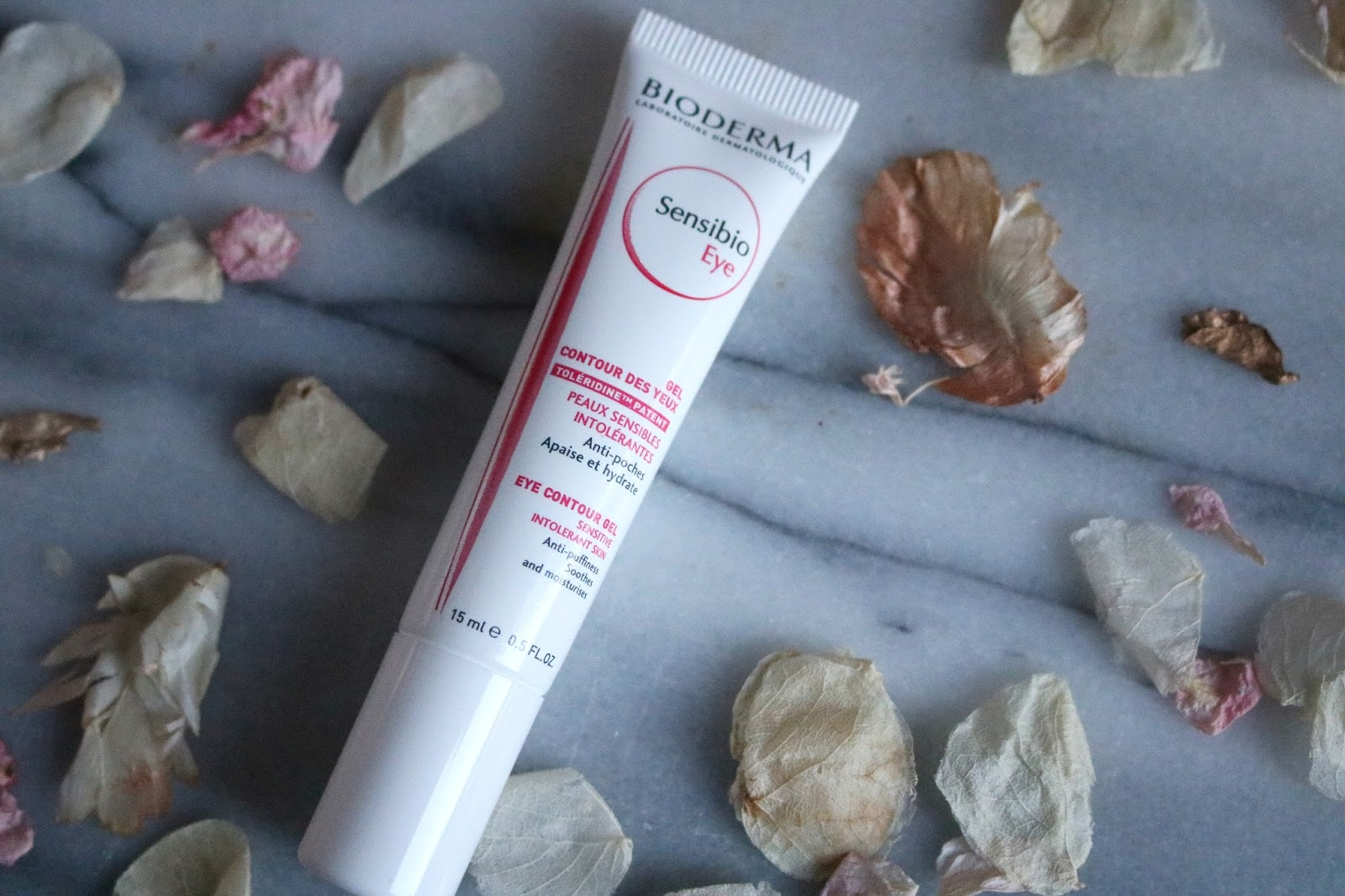 bioderma sensible eye contour gel