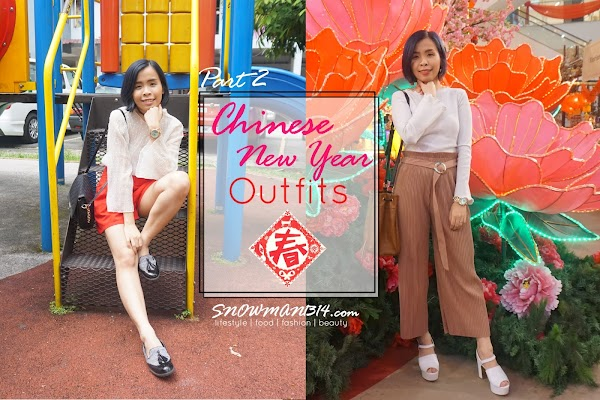 Chinese New Year Outfit Part 2 - Red and Pink