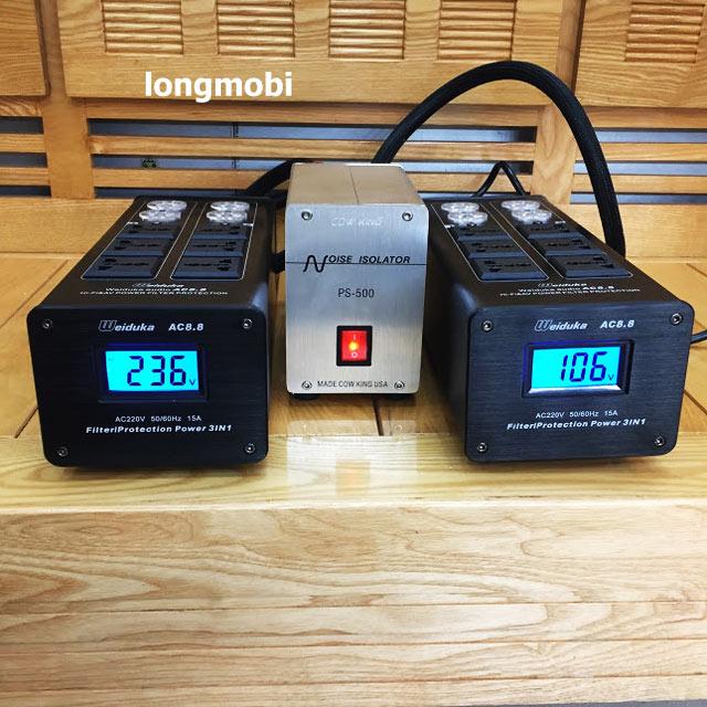 bộ lọc nguồn điện sạch weiduka ac 8.8