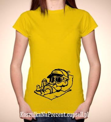 koszulka dla ciężarnej