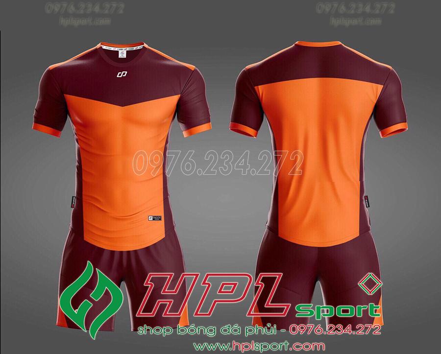Áo ko logo HHD màu cam
