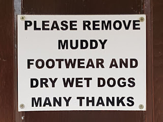 It's great when pubs and cafes are dog-friendly; this sign is from a pub in St Albans