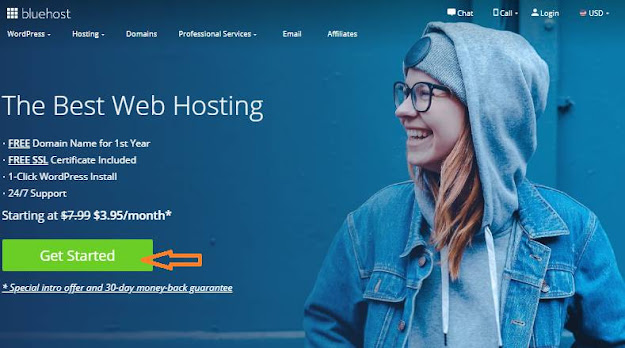 Bluehost-Home Page