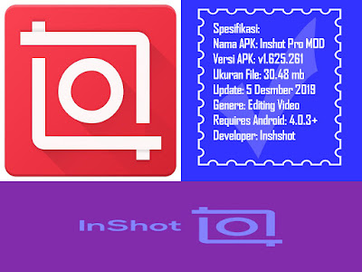 Download Inshot Pro Mod APK Full Efek (Versi ringan 30.48 mb)