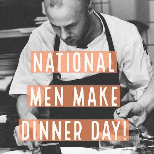 National Men Make Dinner Day Wishes Lovely Pics
