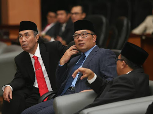 ruang rapat Paripurna DPRD kota Bandung