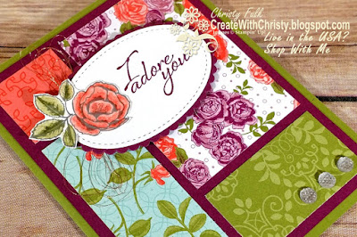 Creating Pretty Card Sketch #73 - Graceful Garden