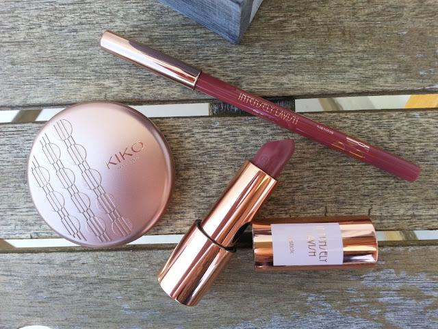 produits kiko rebel bouncy : rouges à lèvres, crayon, blush