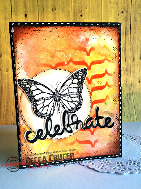 stamped_butterfly_card_with_tim_holtz_distress_ink_background