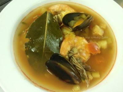 أصل شوربة البولابيز Origin of Bouillabaisse soupالمكونات والمقادير اللازمة لعمل شوربة Bouillabaisseطريقة تحضير وعمل شوربة البولابيز  Bouillabaisse soup