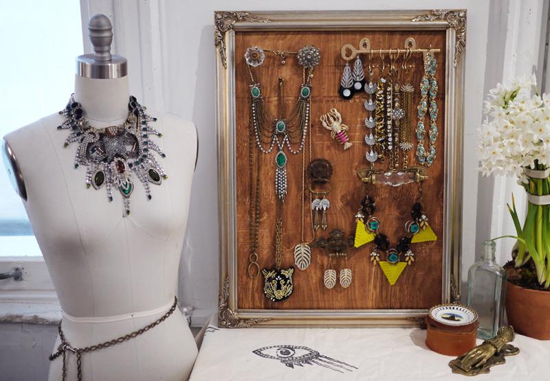 Diy Zr 243 B To Sam Tutorial Stojak Na Biżuterie I Kilka