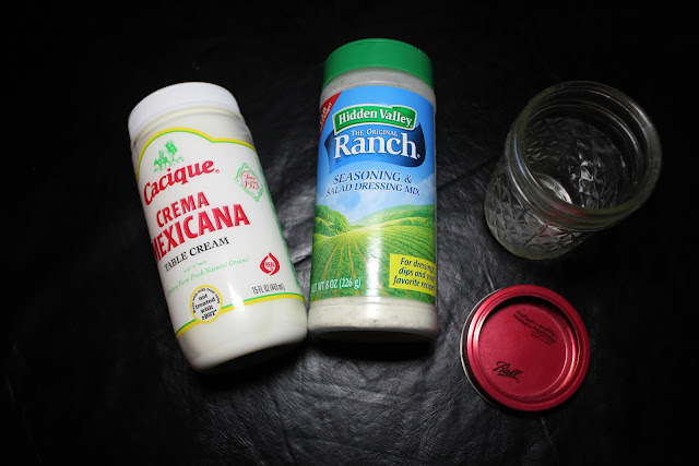 Check out this ranch dressing and dip recipe with less than half the calories of store-bought!