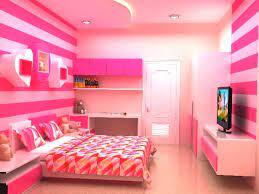 Cat Tembok Kamar merah muda