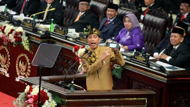 Jokowi Ingatkan untuk Tidak Alergi Terhadap Kritik
