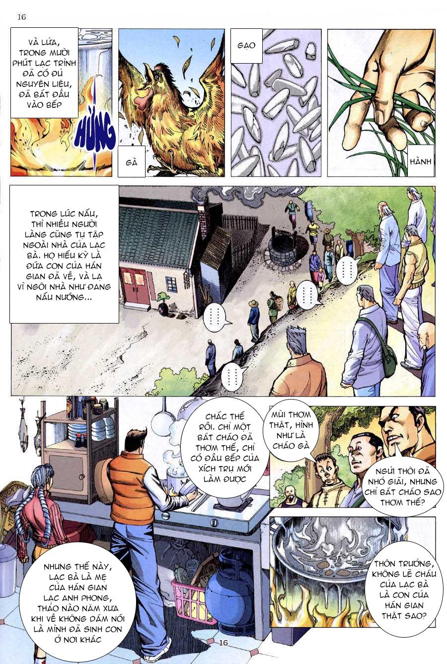 Xích Trụ Phạn Đường chap 9 - Trang 15