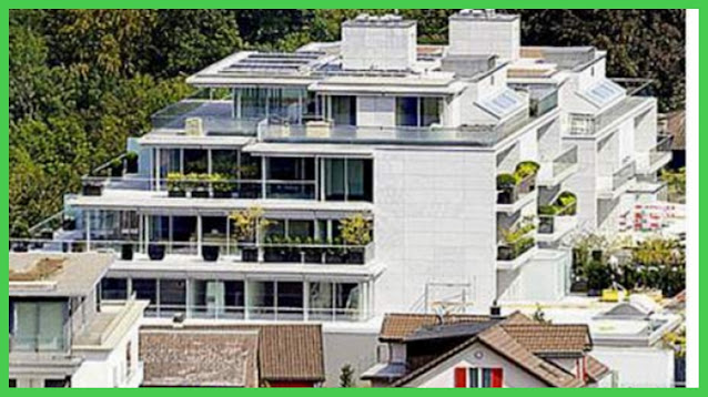 Most expensive things owned by Roger Federer - penthouse apartment in wollerau