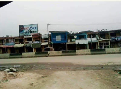 Markets And Shops Deserted, As IPOB Members Comply With Sit-At-Home Order (Photos)