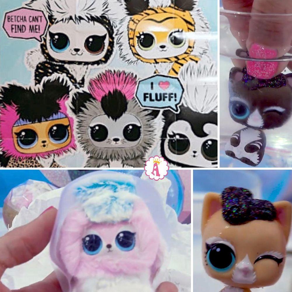 Питомцы L.O.L. Surprise Fluffy Pets серия Winter Disco