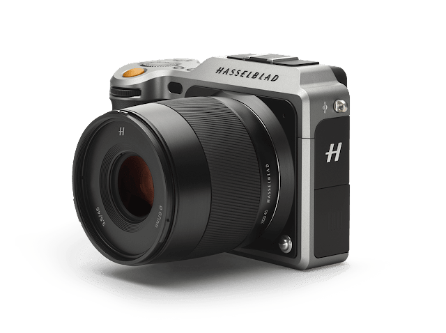Hasselblad X1D-50C Medium Format Mirrorless Digital Camera - Silver