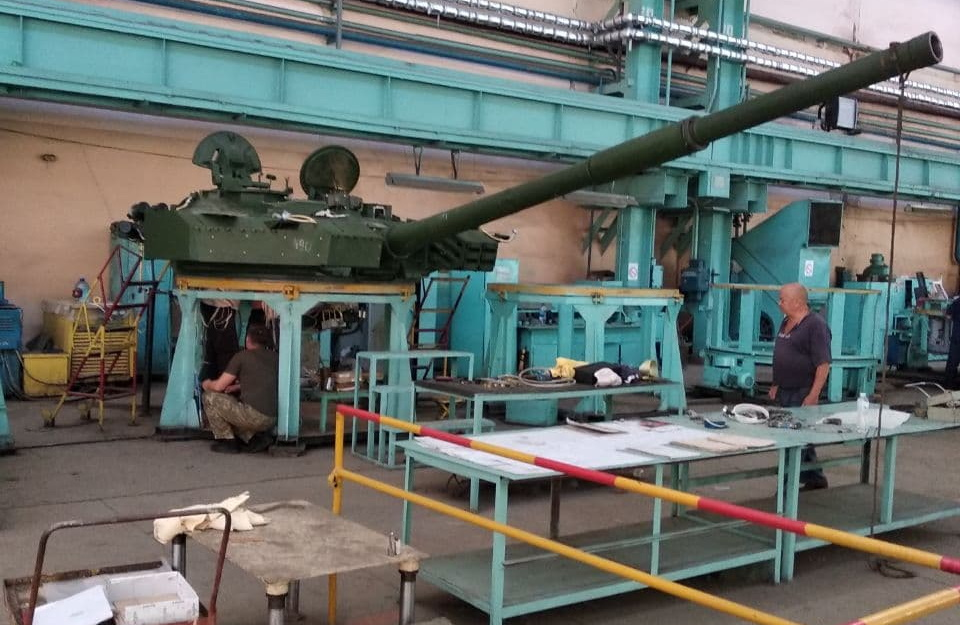 Башта танку Оплот замовленого ДК Укрспецекспорт