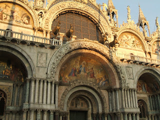 Easy to see why the Basilica of St Mark is sometimes known as the Chiesa d'Oro - the Church of Gold