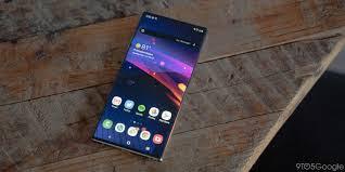 Samsung Galaxy S20+ : Design
