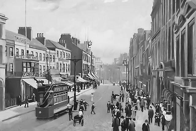 Carlisle Electric Tram, English Street