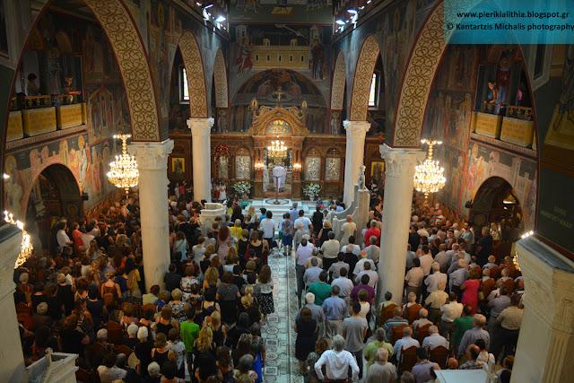 Γιορτάζει σήμερα ο Ι.Ν της Αγίας Παρασκευής στην Κατερίνη