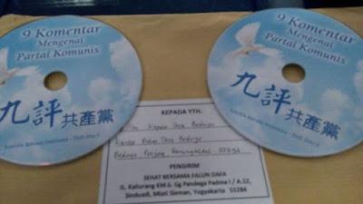 Paket DVD Partai Komunis Gemparkan Yogyakarta