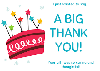 Thank you card designed on Canva by PippaD