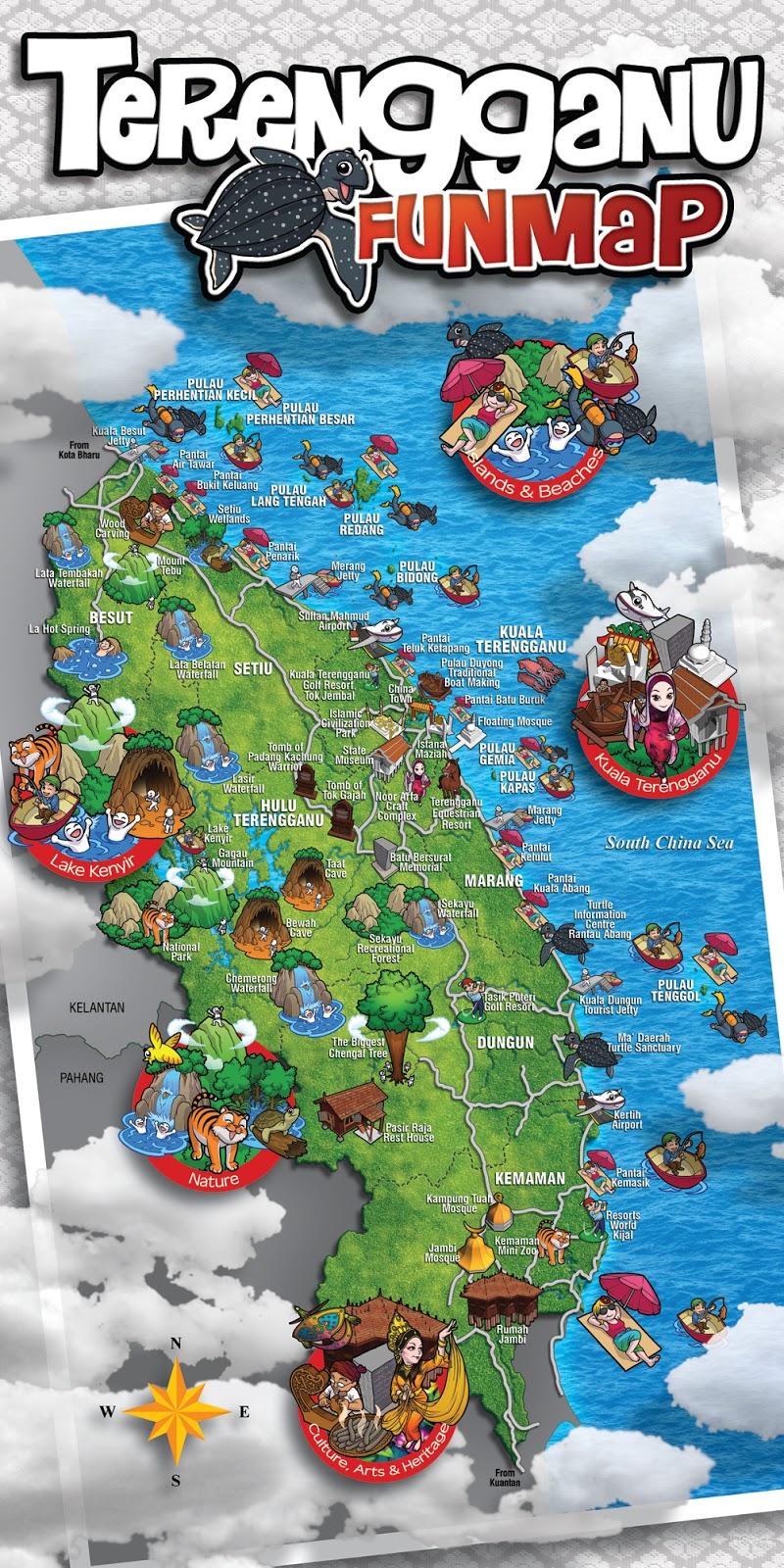Chalet Murah Menghadap Laut di Terengganu