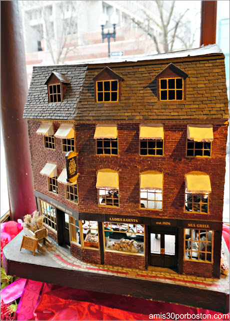 Maquetas del Union Oyster House en Boston