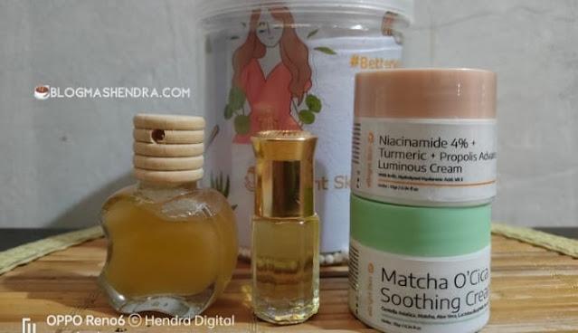 Produk Natural Skincare dan Probiotic Skincare dari eBright Skin